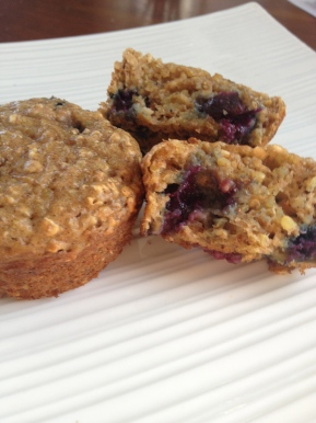 Muffin March Madness! Quinoa Powerhouse Muffins