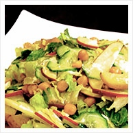 GRG Recipe: Chickpea and Vegetable Salad