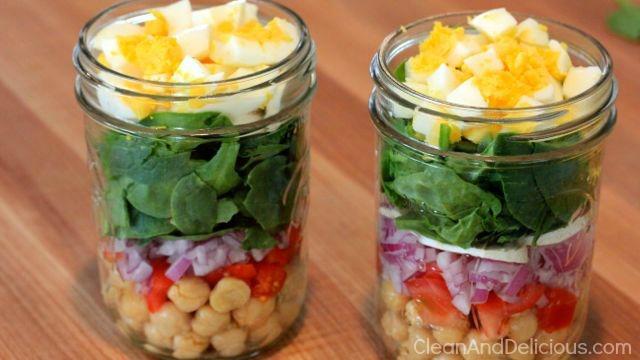 Spinach-Salad-Jars